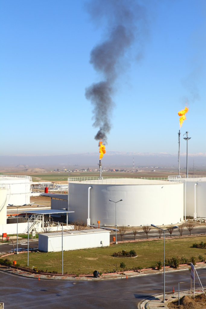 Oil Fields Kurdistan