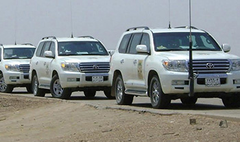 Falcon Security Iraq; providing security services for Iraq