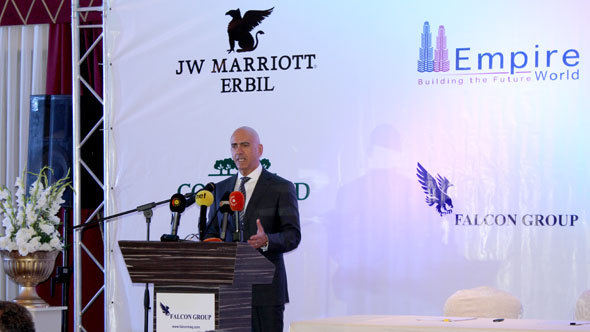 JW Marriott Partners with Falcon Group to Manage Hotels in Kurdistan Region, Iraq