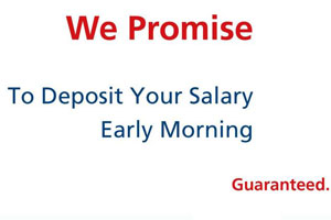 Gulf Bank We Promise Salary