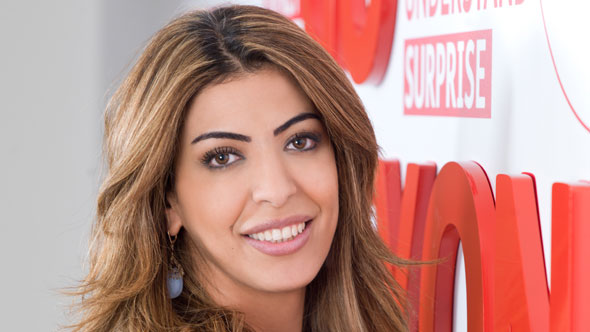 Riham Al Ayyar, Senior Director of Communications and Customer Experience at Wataniya Telecom