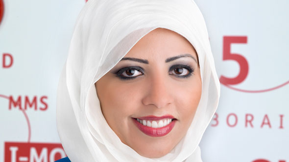 Shaimaa Al Najdi, Senior Director of TPMO and Network Implementation Department at Wataniya Telecom