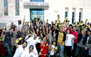 American University Kuwait Students