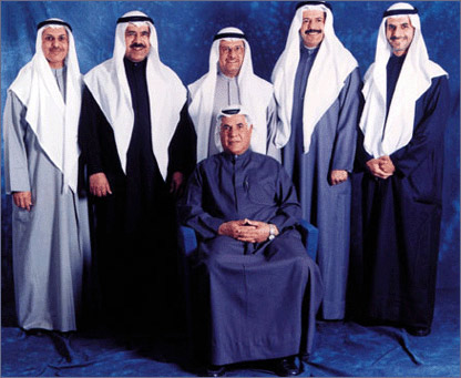 In Kuwait it is all in the family