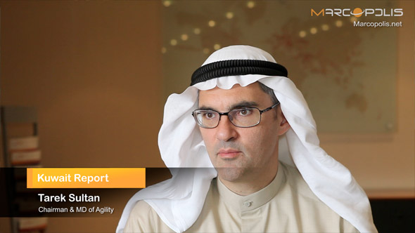 Tarek Sultan Interviewed for Kuwait Report