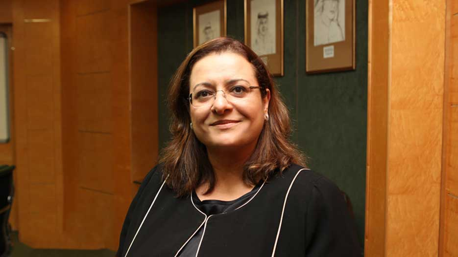 Elham Yousry Mahfouz, CEO of Commercial Bank of Kuwait
