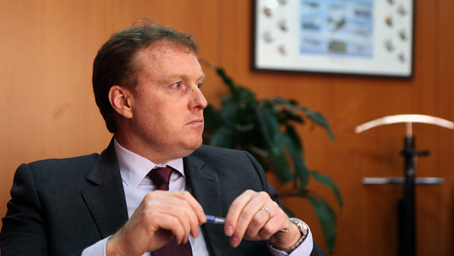 Garry Walsh, CEO of Mezzan Holding