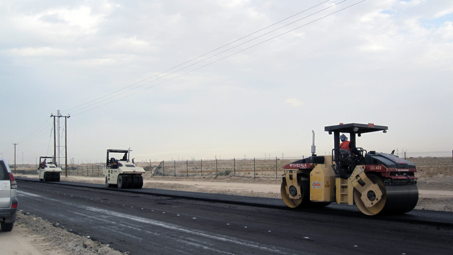 HOT Engineering Co. Construction, completion, and maintenance of the road connecting Kabd and Wafra areas