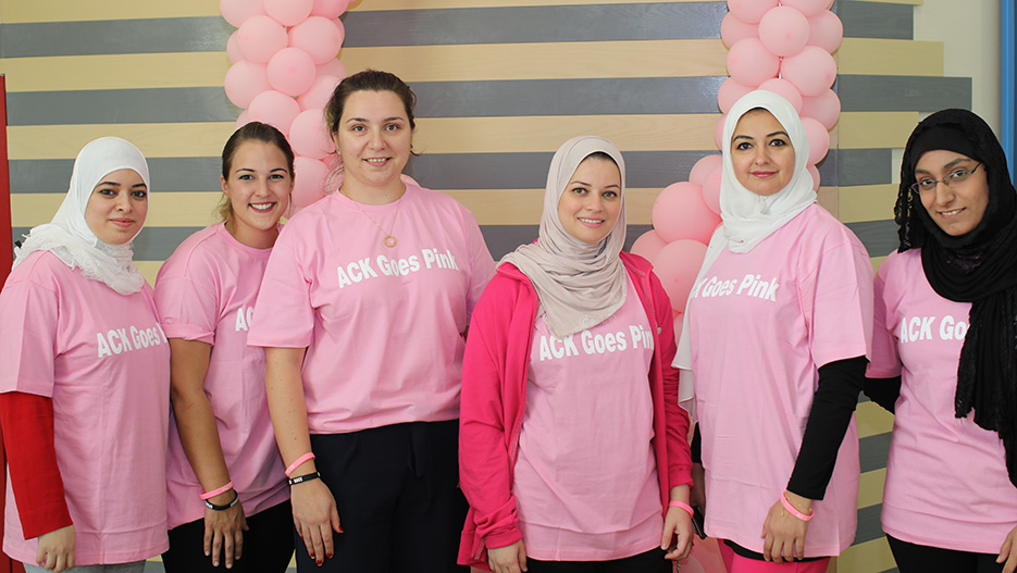"Australian College of Kuwait (ACK) ""Goes Pink"" to Support Breast Cancer Awareness Month in Kuwait"