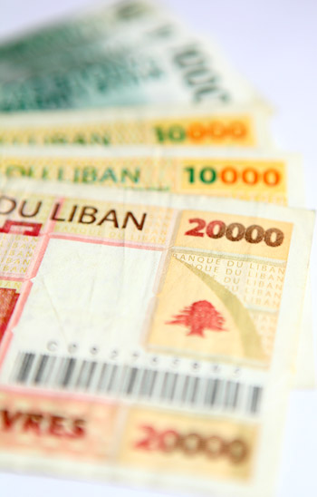 Lebanese-pounds