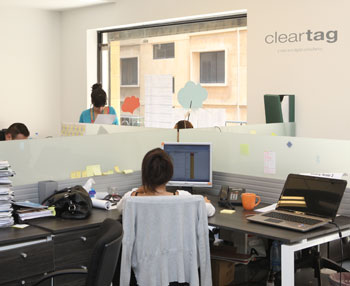 Cleartag workplace in Beirut