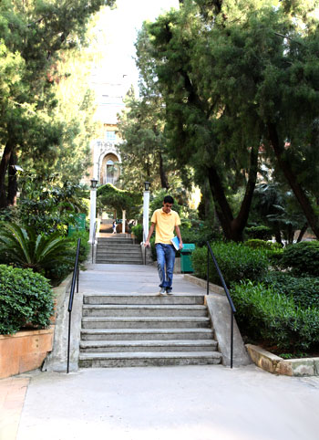 LAU campus in Beirut