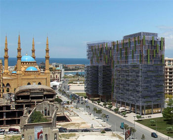 Plus Towers Project in Beirut by Plus Properties