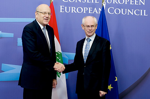 Foreign Policy: Lebanon | Najib Mikati in the EU