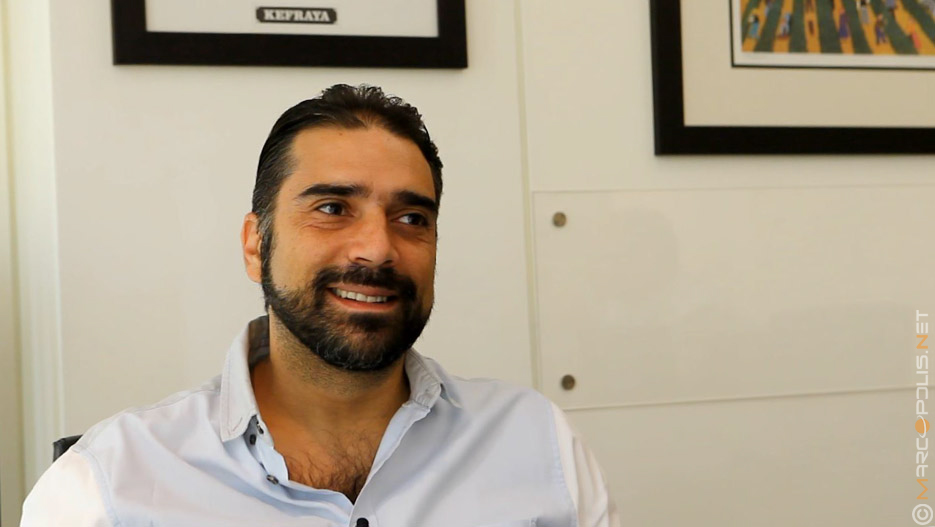 Emile Majdalani, Commercial Director of Chateau Kefraya