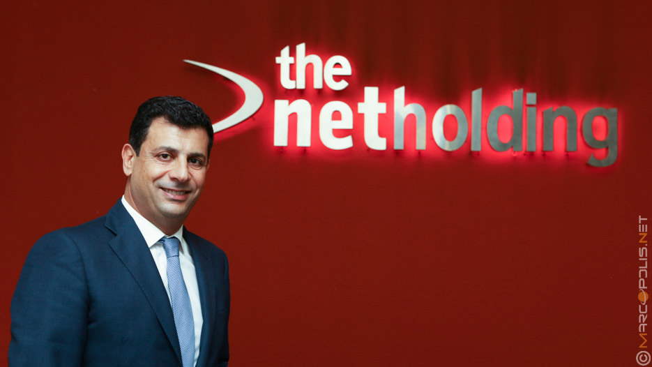 Mourad Aoun, CEO of The Net Holding