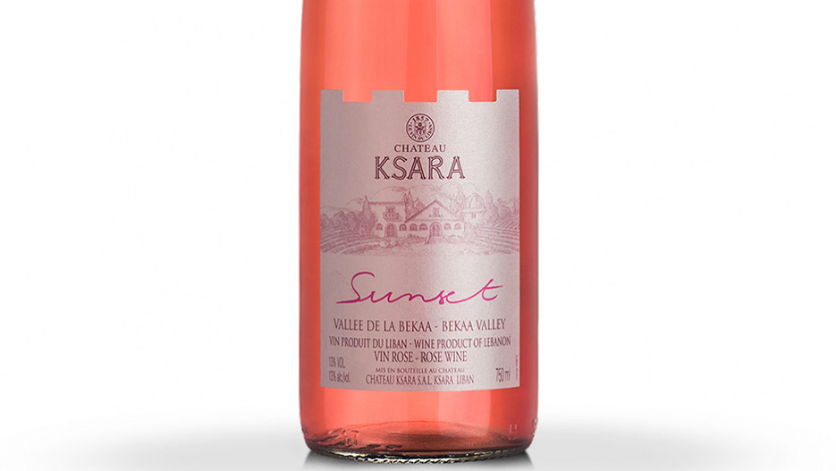 "Leading Wine in Lebanon: Chateau Ksara's ""Sunset"" Rosé"