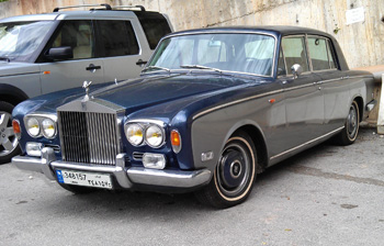 Dr Khouri has a fondness for cars which led him to assembling a 1973 model Rolls Royce Silver Shadow