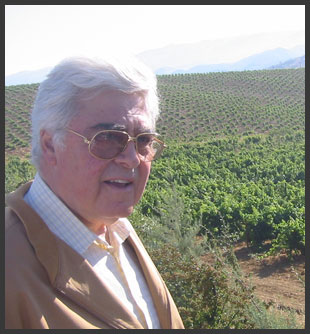 Michel De Bustros, Owner and Chairman of Chateau Kefraya vineyard
