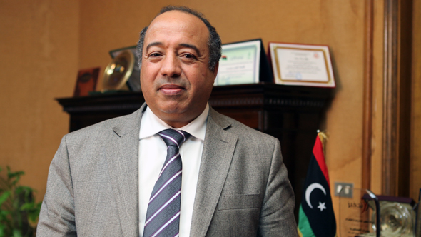 Ahmed Rajab is the General Manager of the Largest Bank in Libya