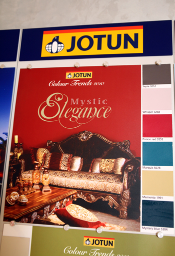 colours of JOTUN paints