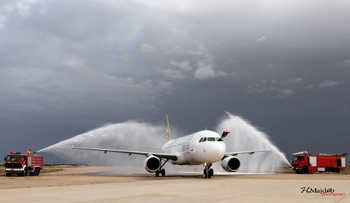 Libyan Airlines aircraft