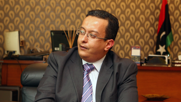 Dr. Ahmed M. Karoud, General Manager of Libyan Stock Market