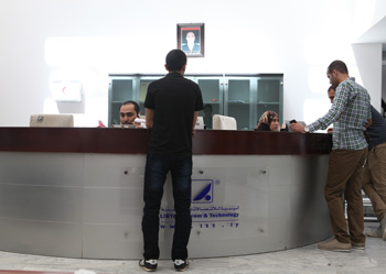 LTT building in Tripoli, reception