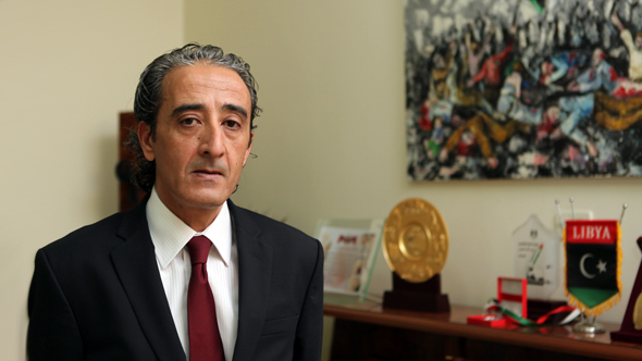 Habib Mohammed Al-Amin, Minister of Culture and Civil Society of Libya