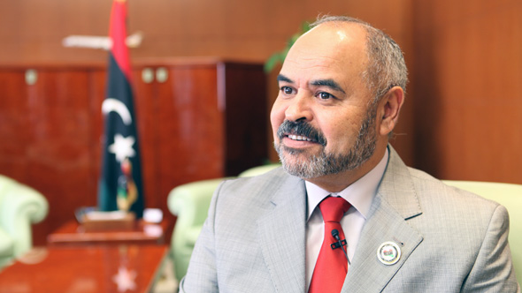 Abdul Qader Mohammed Ahmed Sabah, Minister of Transportation of Libya