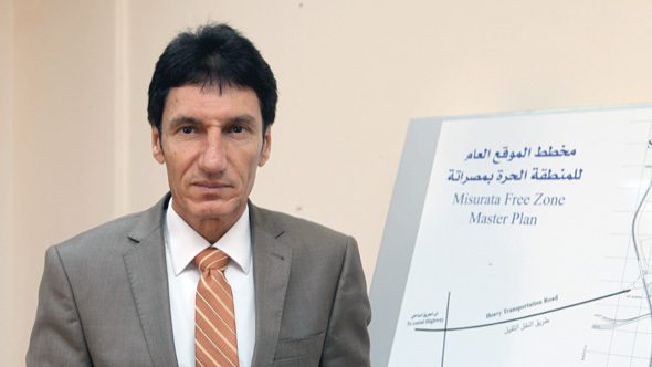 Jamal A El-Ghirani, Investment General Manager of Misurata Free Zone