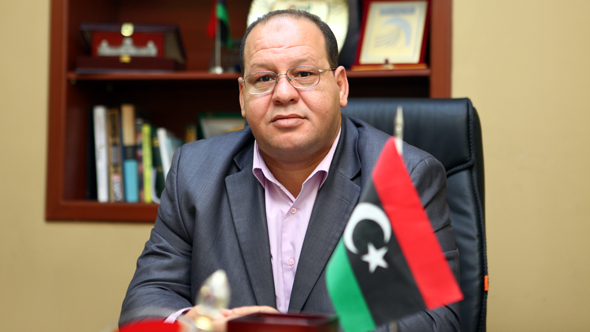 Khalil Masoud Mahfud, Chairman of the Board of Directors of Tripoli Chamber of Commerce, Industry and Agriculture