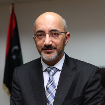 Usama Sialan, Minister of Communications and Informatics of Libya