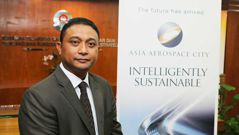 Zulfikri Osman, COO of Asia Aerospace City