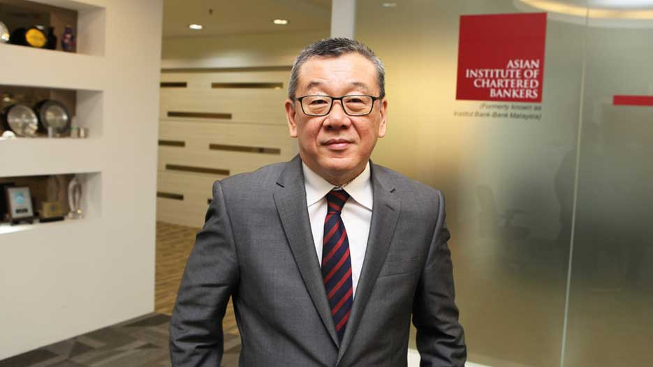 Tay Kay Luan, Chief Executive of Asian Institute of Chartered Bankers