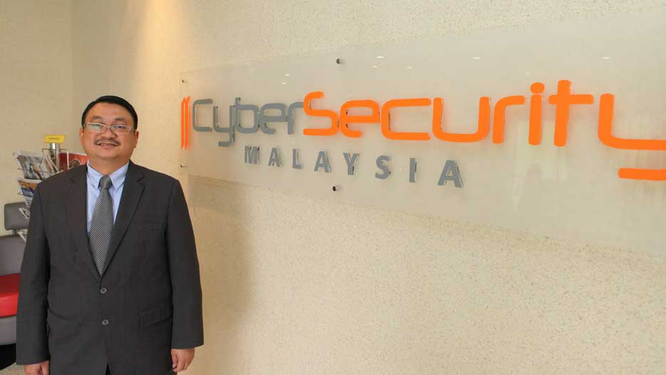 Dr. Amirudin Bin Abdul Wahab, CEO of CyberSecurity