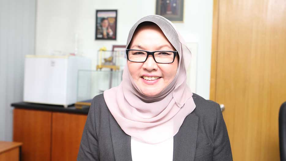 Dr. Noormah Mohd. Noor, CEO of Express Rail Link (ERL)