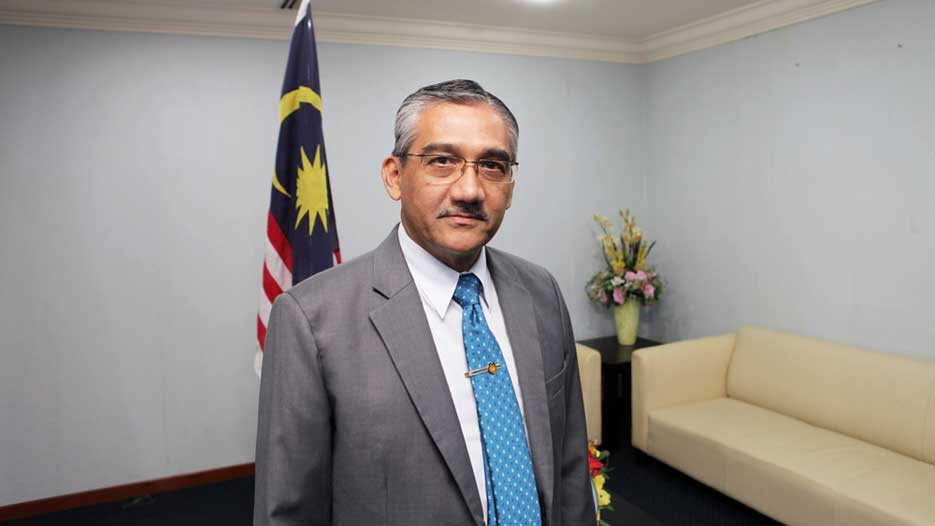 Lt Gen Datuk Dr William Stevenson, Chief Executive of MIDAS