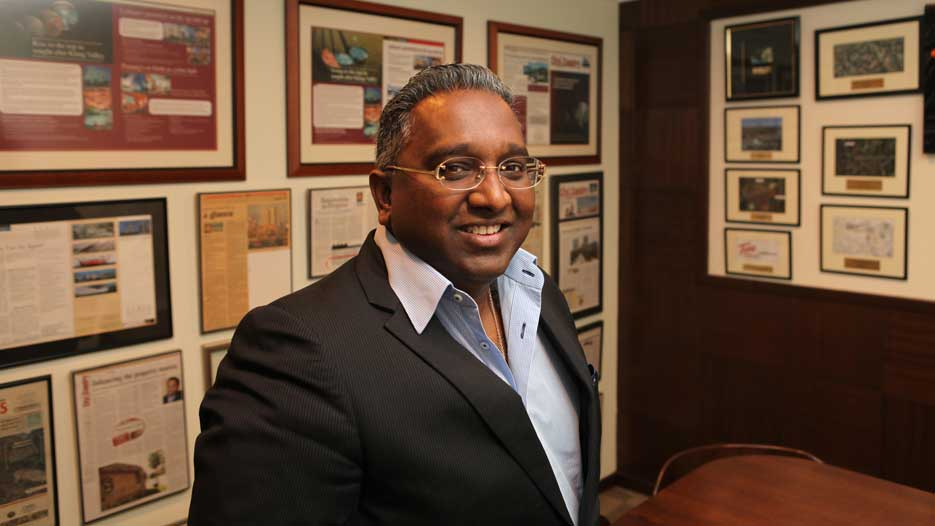 Previndran Singhe, CEO of Zerin Properties