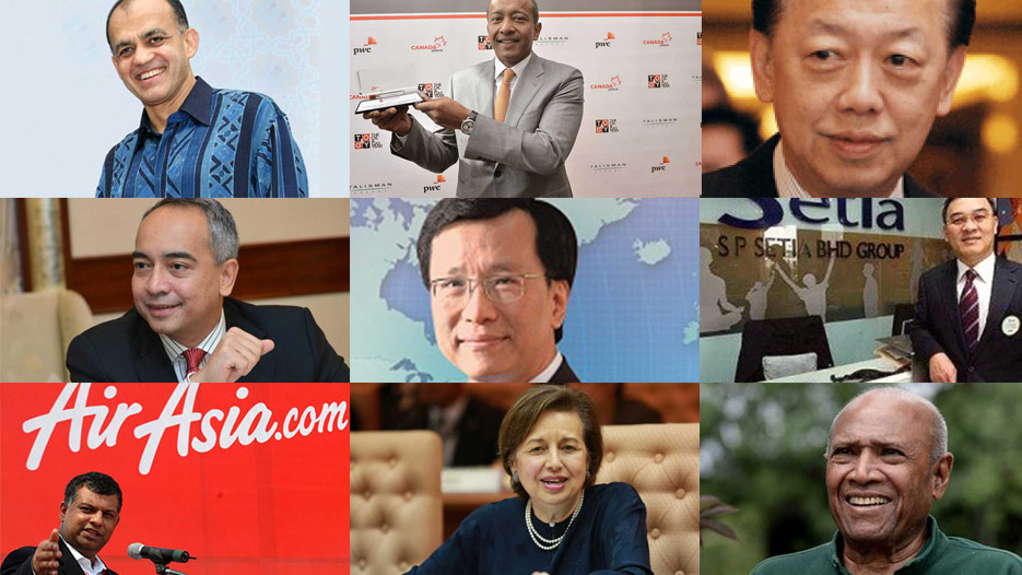 Most Powerful Businessmen in Malaysia