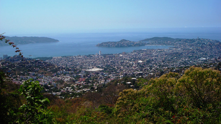 The Bay of Acapulco