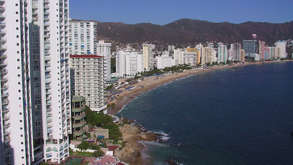 Beach at Acapulco
