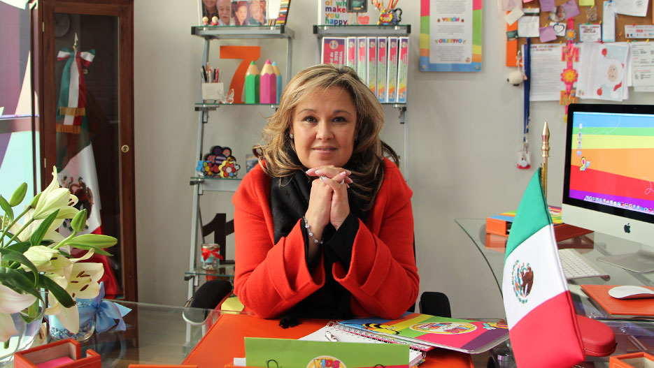 Georgina Salgado Negrete, Directora General de Kids Bee Happy