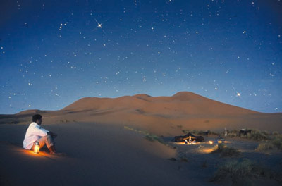 Morocco Desert Night