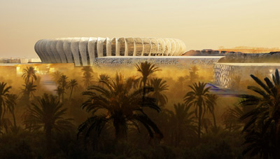Morocco Real Estate Stadium