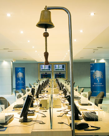 Cotation Room Casablanca Stock Exchange