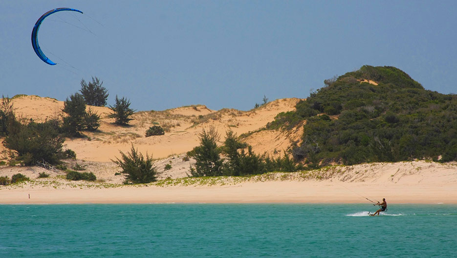 Vilankulo is an ideal destination for those who want to enjoy the beach