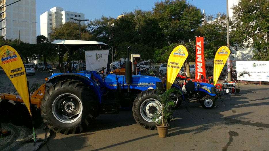 TECAP also provides agricultural machinery and vehicles