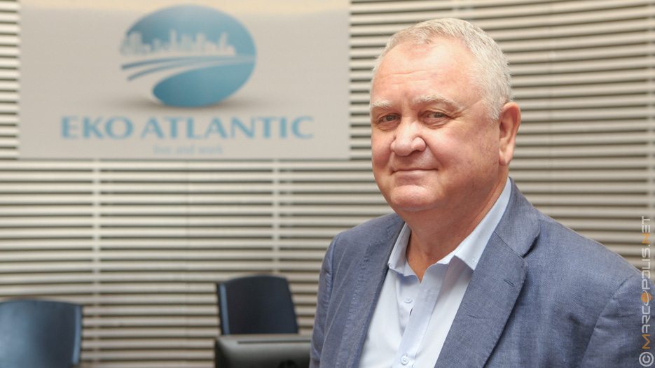 David Frame, Managing Director of Eko Atlantic