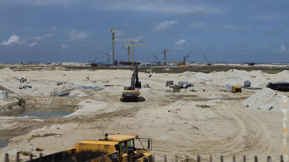 Eko Atlantic Real Estate Development in Lagos, Nigeria